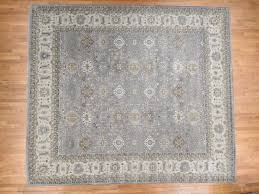 13 9 x15 9 oversize hand knotted pure wool silver karajeh design rug cwr39557
