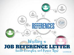 Letter For References Writing A Job Reference Letter With Examples And Proven Tips