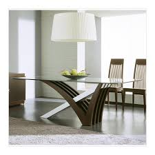 Clear Dining Room Table Mirage Wenge Clear Glass Dining Table By Rossetto All World