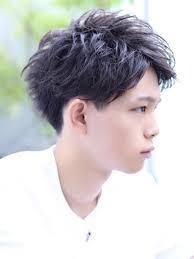 刈り上げ爽やかアップバングショートメンズ髪型 Lipps 吉祥寺annex