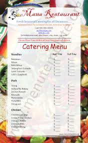 Free Catering Menu Templates For Microsoft Word Catering Menu Templates Menu Templates