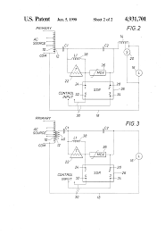 patent us4931701 bi level ballast circuit for operating hid patent drawing