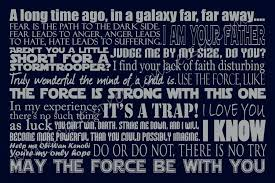 Famous Star Wars Quotes Amazing Star Wars Quotes About Life New Quotes Of The Day