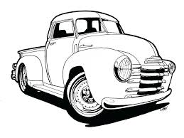 old chevy truck coloring pages classic cars and trucks coloring pages cars truck coloring pages provide