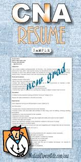 Sample Resume For Nursing Assistant Position Cna Objective Resume