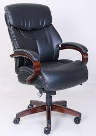la z boy bradley executive chair black