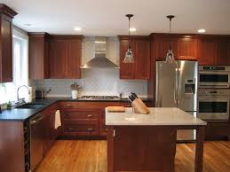 Wood Color Paint Staining Kitchen Cabinets Darker Rustic Brown Varnished Oak Wood