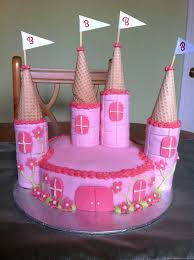 Princess Castle Birthday Cake By Stacey2512 On Deviantart