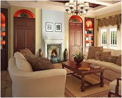Tv In Living Room Decorating Living Room Decorating Living Room With Dark Brown Furniture