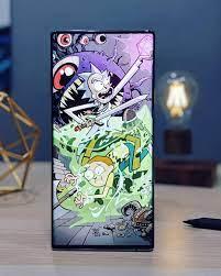 Rick and Morty Genius Wallpaper Galaxy ...