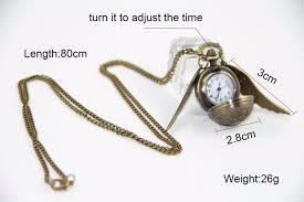 harry potter golden snitch pendant with quartz pocket watch brass harry potter golden snitch pendant with quartz pocket watch brass at low