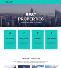 Free Html Website Templates Adorable Real Estate Bootstrap Free HTML Web Template Download WebThemez