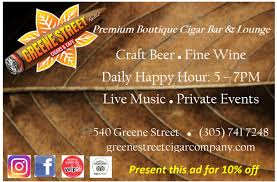 greene street cigar pany key west