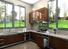 Mix Color High Gloss New Design Kitchen Cabinet India Price Buy
