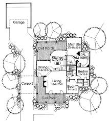 house plan 65800 at familyhomeplans com How To Draw A House Plan In Autocad 2010 bungalow house plan 65800 level one how to draw a house plan in autocad 2010 pdf