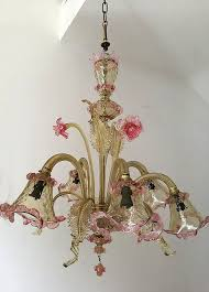 secolo antique artistic murano glass chandelier venice entirely hand made