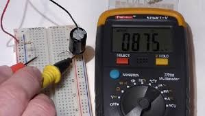 test a capacitor using og and