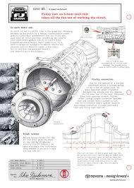 toyota fj cruiser technical illustrations fj cruiser transmission