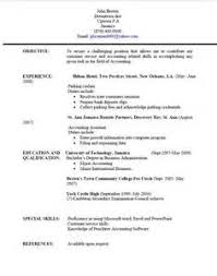 Resume Format Jamaica Free Cover Letter Templates