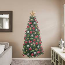tree life size holiday removable wall decal fathead wall decal