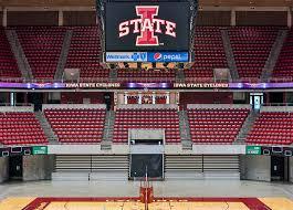 Iowa State University Hilton Coliseum State Gym Ames