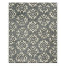 zenith hand knotted rug steeple grey
