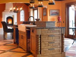 Orange Kitchens French Country Kitchen Cabinets Pictures Options Tips Ideas