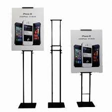 Display Stands For Pictures Inspiration Poster Display StandsPOPMetal Display Racks With Powder Coating