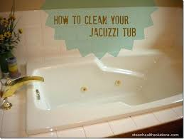 how to clean tub jets cleaning tips and tubs jacuzzi bathtub with vinegar
