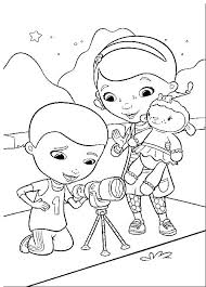Coloring Pages Doc Mcstuffins Coloring Sheets Free Pages Stars