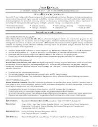 Hr Resume Templates Free Compensation And Benefits Human Resources Modern 100 Resource 26