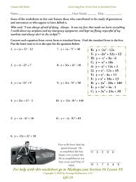 writing standard form equations for parabolas definition mathnasium denville mathematics jobs machine learning