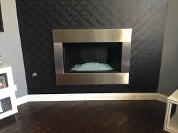 stainless steel fireplace surrounds unique stainless designs for cute steel fireplace surround