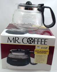 Coffee easy measure coffee maker and the mr. Nd4 Mr Coffee 4 Cup Glass Carafe