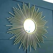 star burst mirror large sunburst wall starburst mirrors gold silver antique