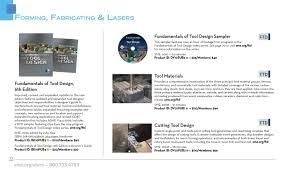 Fundamentals Of Tool Design Sme 2014 Book Video Catalog By Sme Issuu