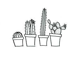 Cactus Embroidery Pattern Custom Inspiration Design