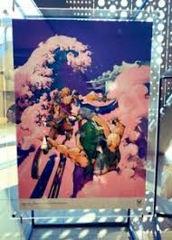 Those aren't references, those are just the only things araki knows how to draw lol. Tokyo 2020 Paralympics Official Art Poster Araki Hirohiko Jojo B2 Made In Japan Ebay