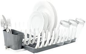 Space Saving Dish Rack Furniture Home Versa Compact Dish Rack Corirae