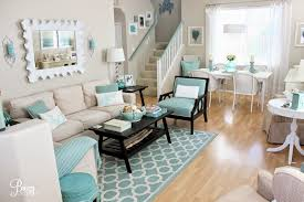 Turquoise Living Room Guest Blogger Breezy From Breezy Designs