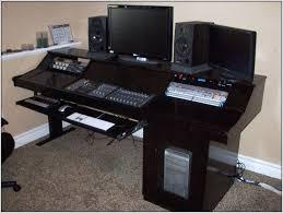 home recording desk home recording studio desk plans home recording studio desk setup