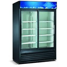 refrigerator glass doors invigorate double sliding merchandiser regarding 10