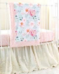 peach bedding sets romantic blooms vintage fl lace crib bedding peach baby bedding sets