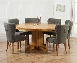 dining table round oak dining table seats 8 torino knights bridge grey diningchiangmai