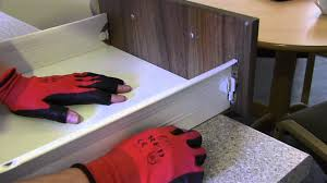 how to re attach a kitchen drawer front
