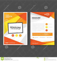 orange vector leaflet brochure flyer business proposal template orange yellow vector leaflet brochure flyer template design book cover layout design abstract orange