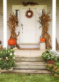 thanksgiving front door decorationsFront Door Decorating Ideas 30 Cozy Thanksgiving Front Door Dcor