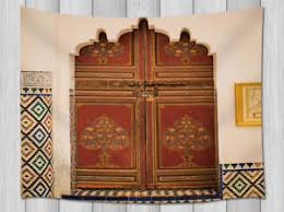 image is loading typical of moroccan architecture wall hanging tapestry smooth  on typical wall art size with typical of moroccan architecture wall hanging tapestry smooth supple
