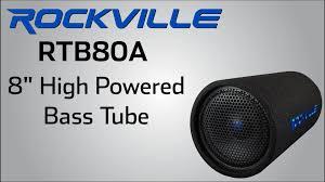 rockville rtb80a high powered bass tube rockville rtb80a high powered bass tube