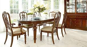 thomasville dining table image of dining table with flowers thomasville furniture round dining table